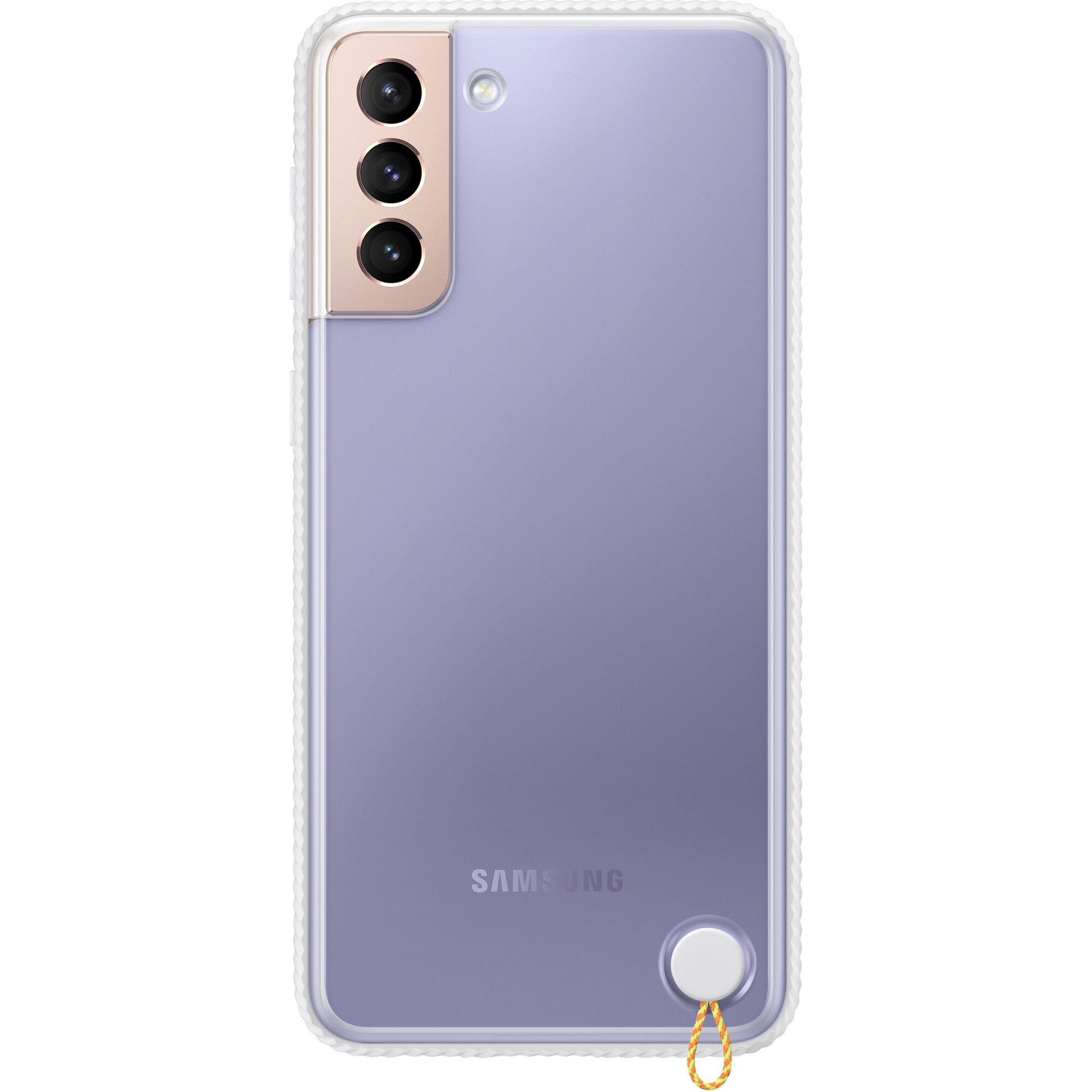 Fotografie Husa de protectie Samsung Clear Protective Cover pentru Galaxy S21 Plus, White