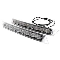 2 db Palmonix DRL nappali menetfény, univerzális, 9 LED * 1W, 300 x 32 x 22mm