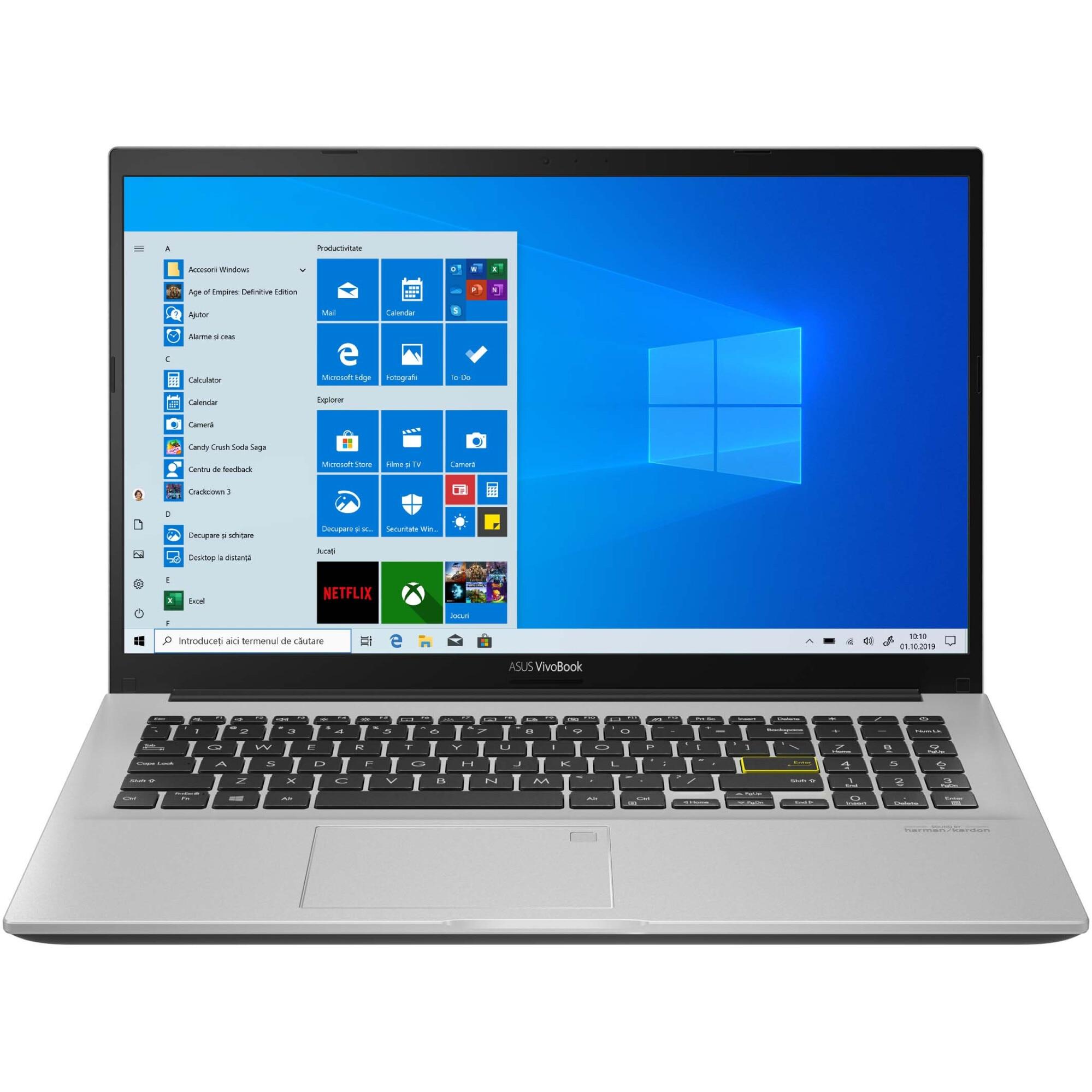 "Fotografie Laptop ASUS VivoBook 15 M513IA cu procesor AMD Ryzen™ 5 4500U pana la 4.00 GHz, 15.6"", Full HD, 8GB, 512GB SSD, AMD Radeon™ Graphics, Windows 10 Home, Dreamy White"