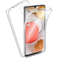 Силиконов калъф Forcell Samsung Galaxy A42 5G, Full Face 360, Прозрачен