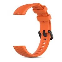 Huawei Honor Band 5 színes pótszíj (narancssárga)