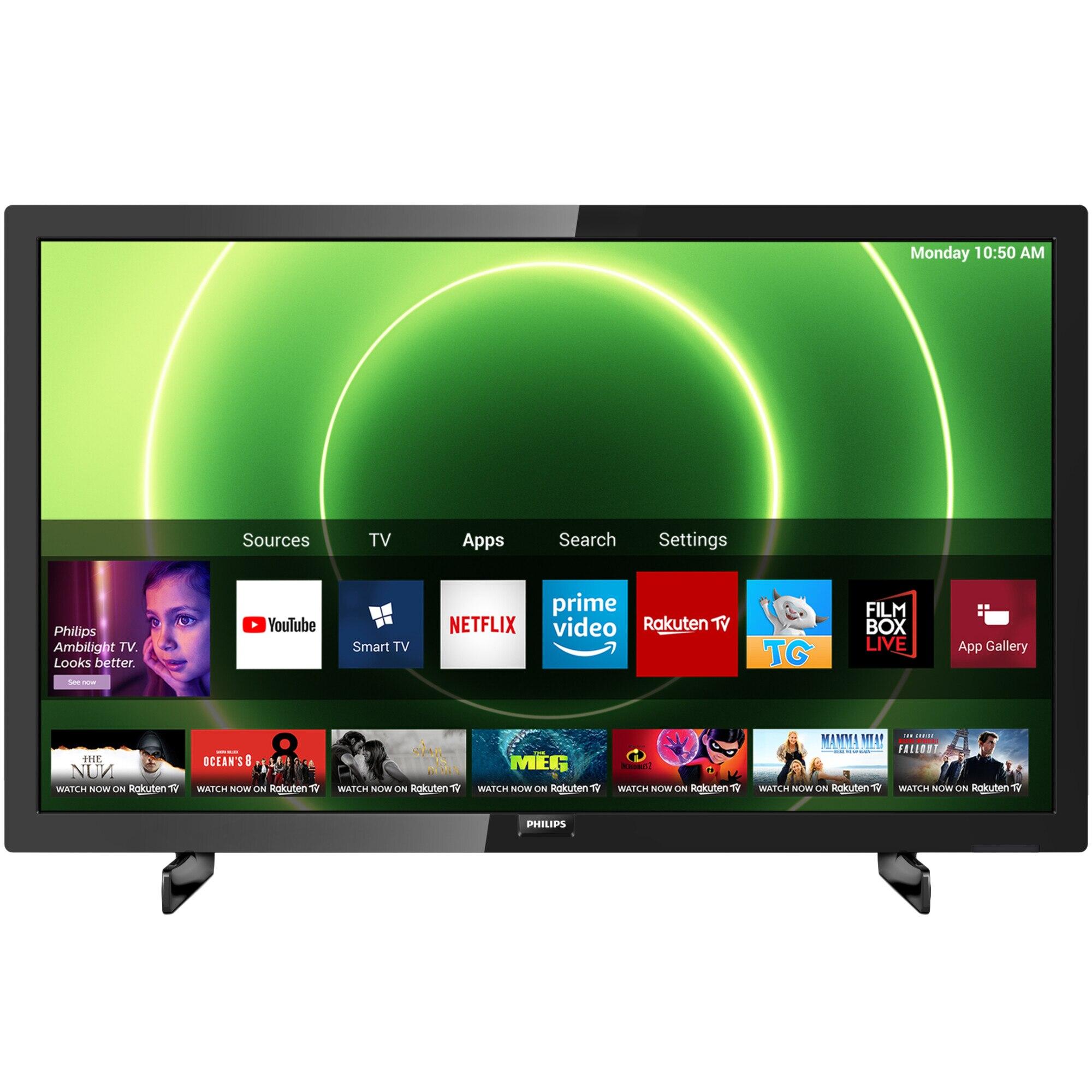 Fotografie Televizor Philips 24PFS6805/12, 60 cm, Smart, Full HD, LED