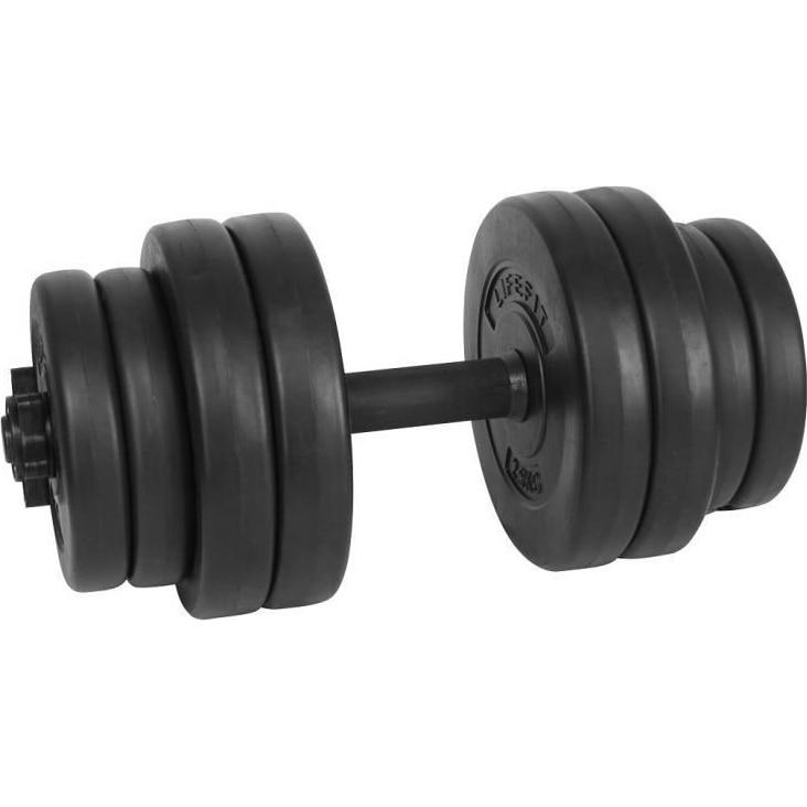 Fotografie Set gantera reglabila LifeFit Strong, 15kg