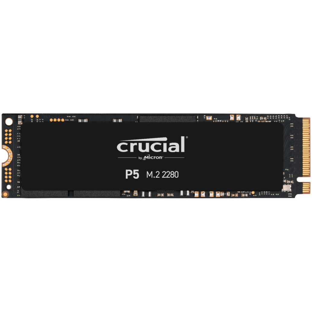 Fotografie Solid State Drive (SSD) Crucial P5, 1TB, NVMe, M.2.