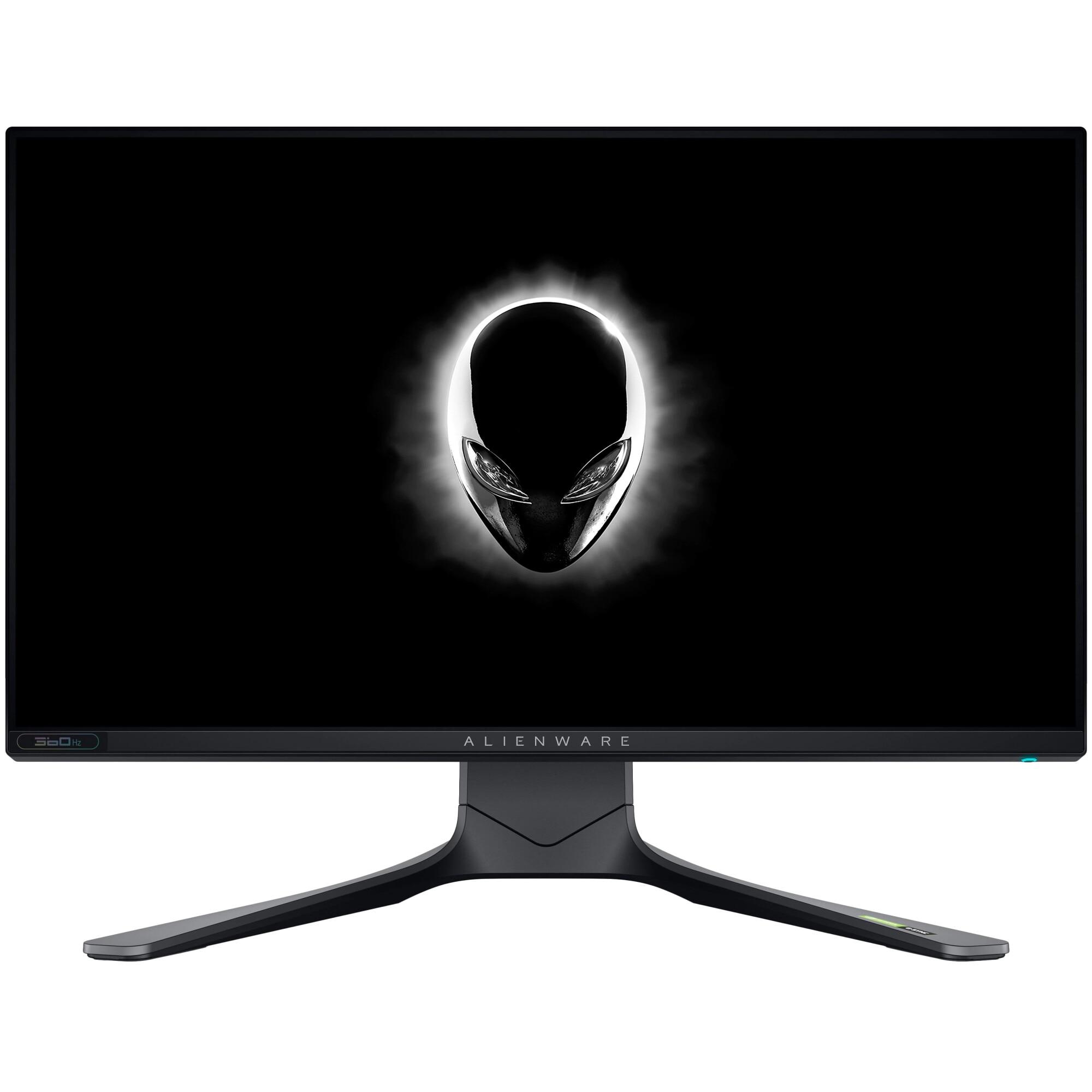 Fotografie Monitor Gaming LED IPS Dell Alienware 24.5'', FHD, 360Hz, 1ms, G-SYNC, FreeSync , HDR400, HDMI, DP, 1xUSB 3.0, VESA, AW2521H