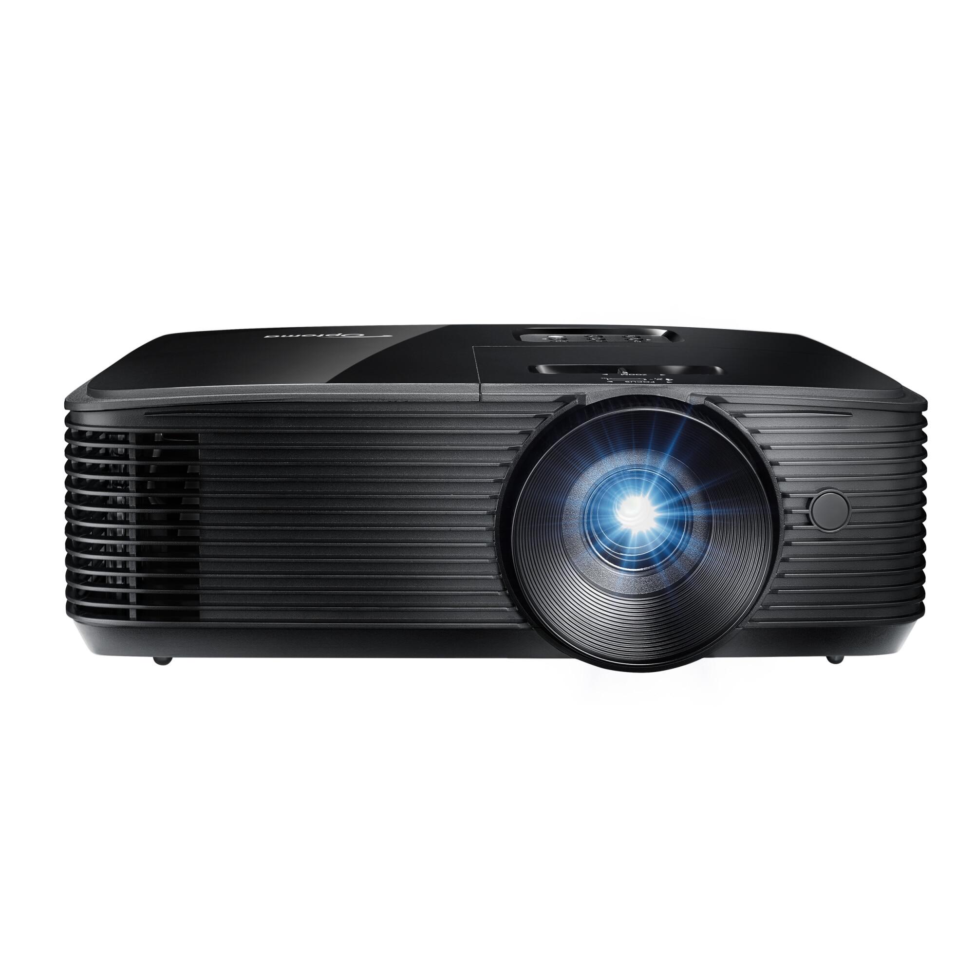 Fotografie Videoproiector OPTOMA HD146X, DLP, FHD 1920x1080, 3600 lumeni, 25.000:1, HDMI, negru