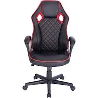 Kring Genius Irodai szék, PU, Fekete/Piros