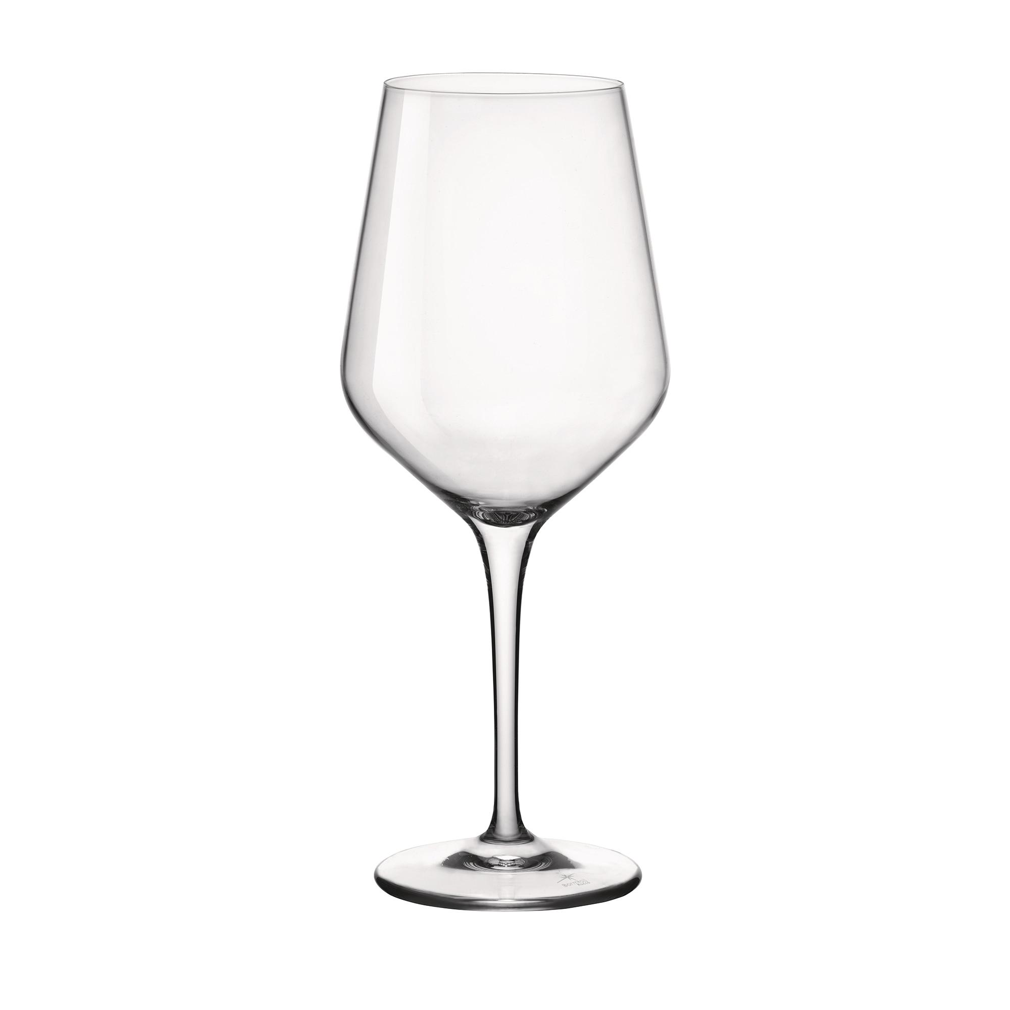 Fotografie Set 6 pahare vin rosu cu picior Bormioli Electra, 550 ml, sticla cristalina