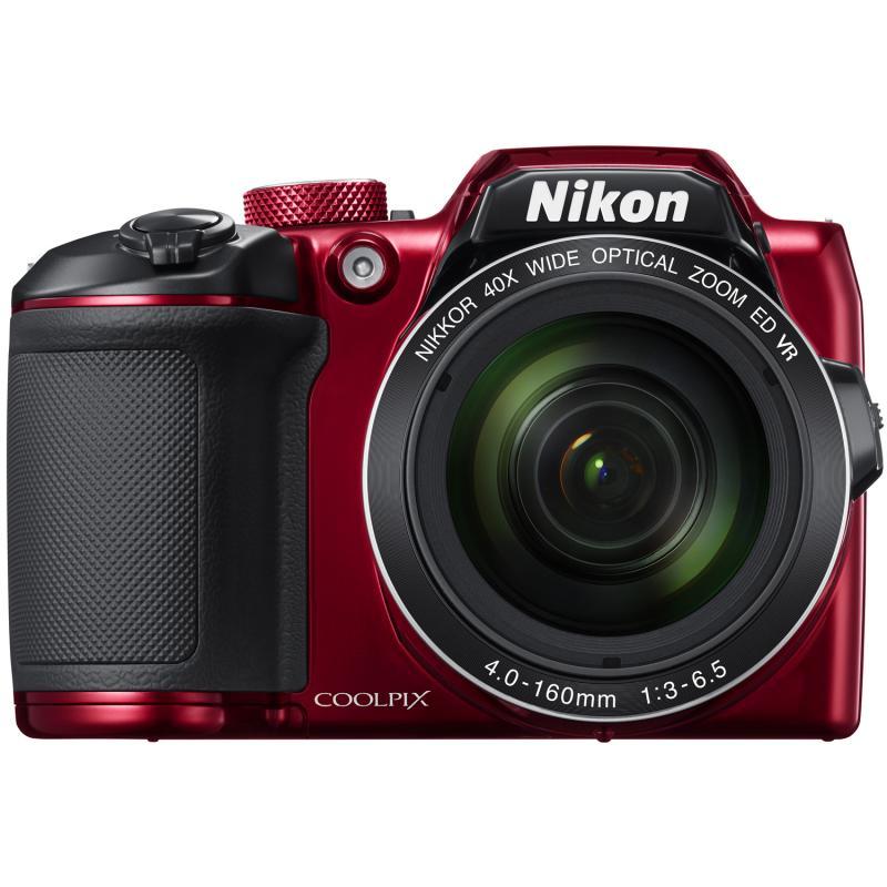 Fotografie Aparat foto digital Nikon COOLPIX B500, 16.1MP Rosu