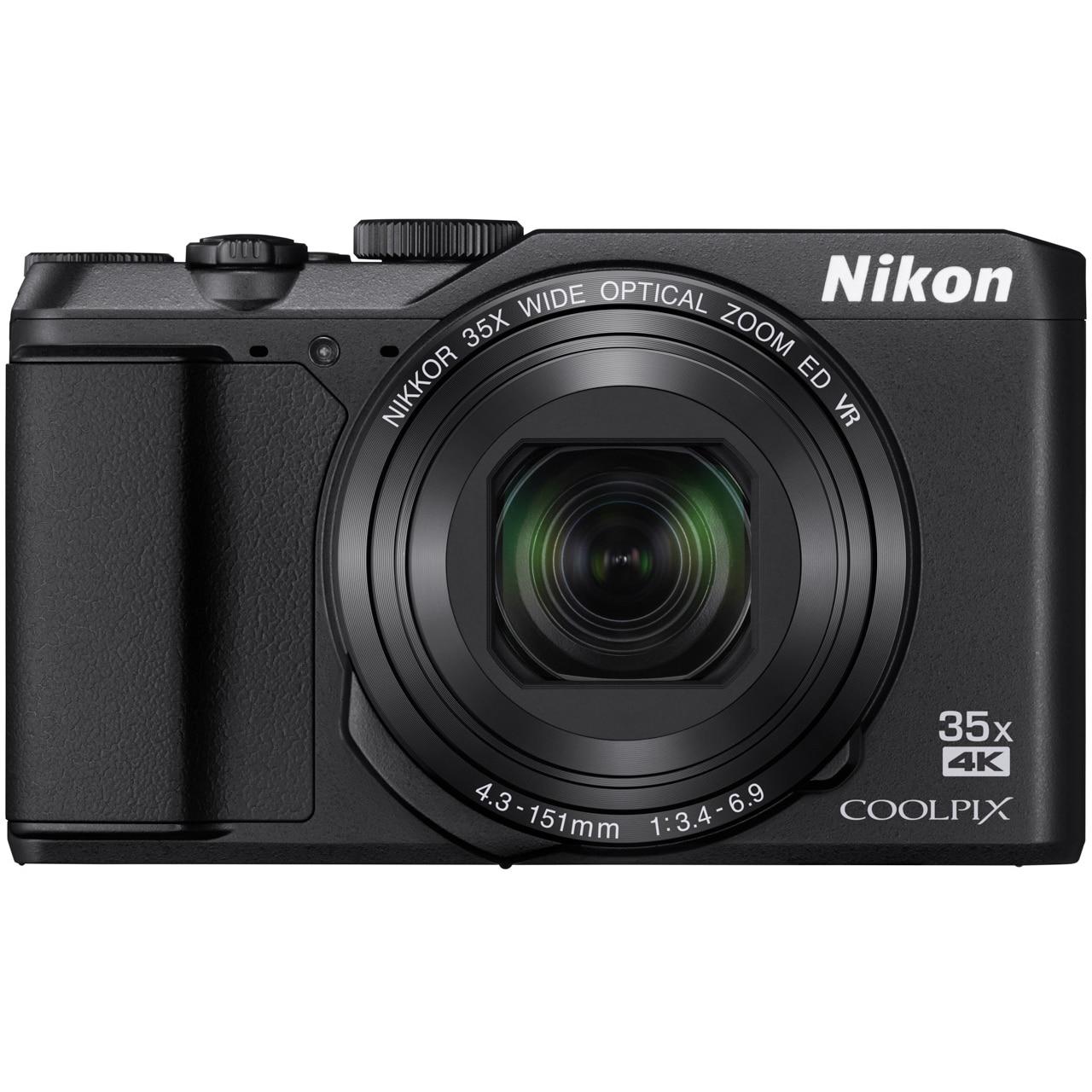 Fotografie Aparat foto digital Nikon COOLPIX A900, 20 MP, Negru