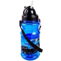 Recipient apa pentru copii Pop Up Car Blue, 500 ml