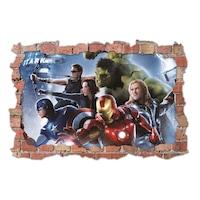 3D Dekorációs falmatrica, Avengers 2, 60x90cm