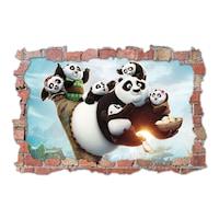 3D Dekorációs falmatrica, Kung fu Panda1, 60x90cm