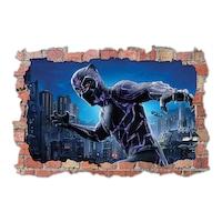 3D Dekorációs falmatrica, Black Panther 2, 60x90cm