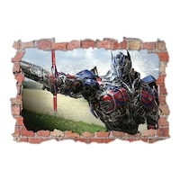 3D Dekorációs falmatrica, Transformers Optimus Prime, 60x90cm