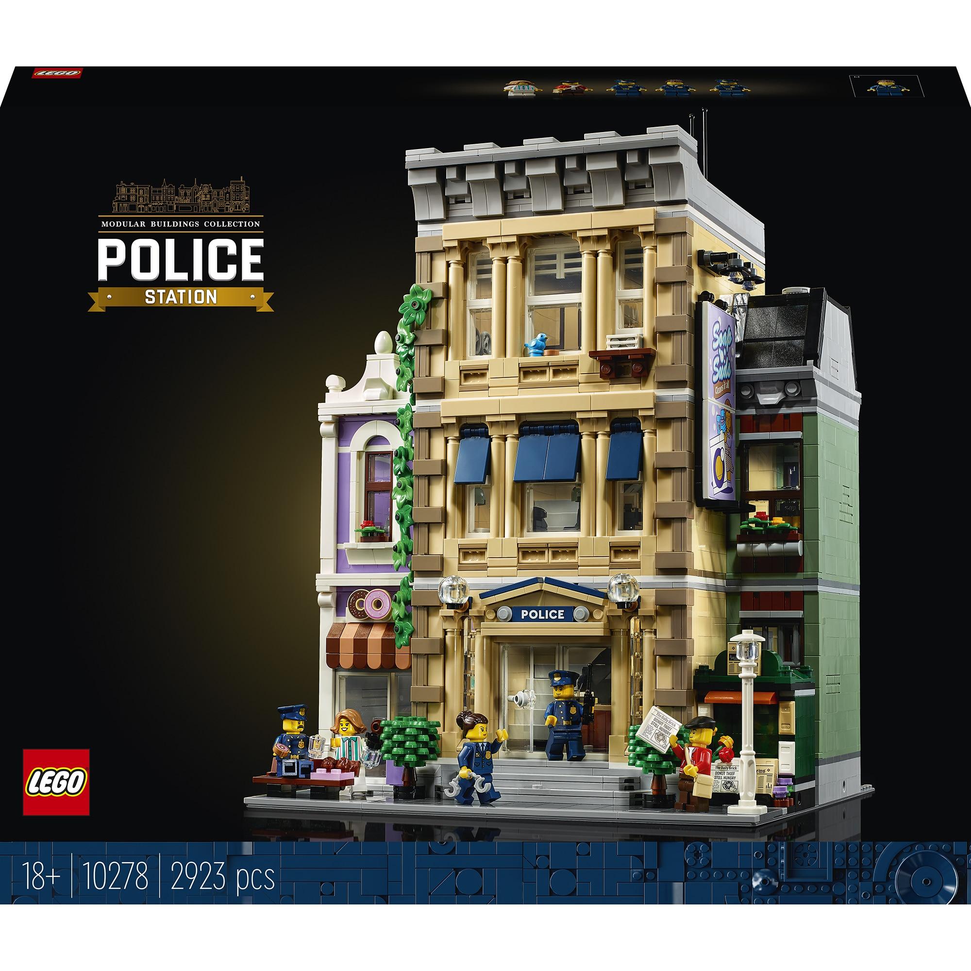 Fotografie LEGO Creator Expert - Sectia de Politie 10278, 2923 piese