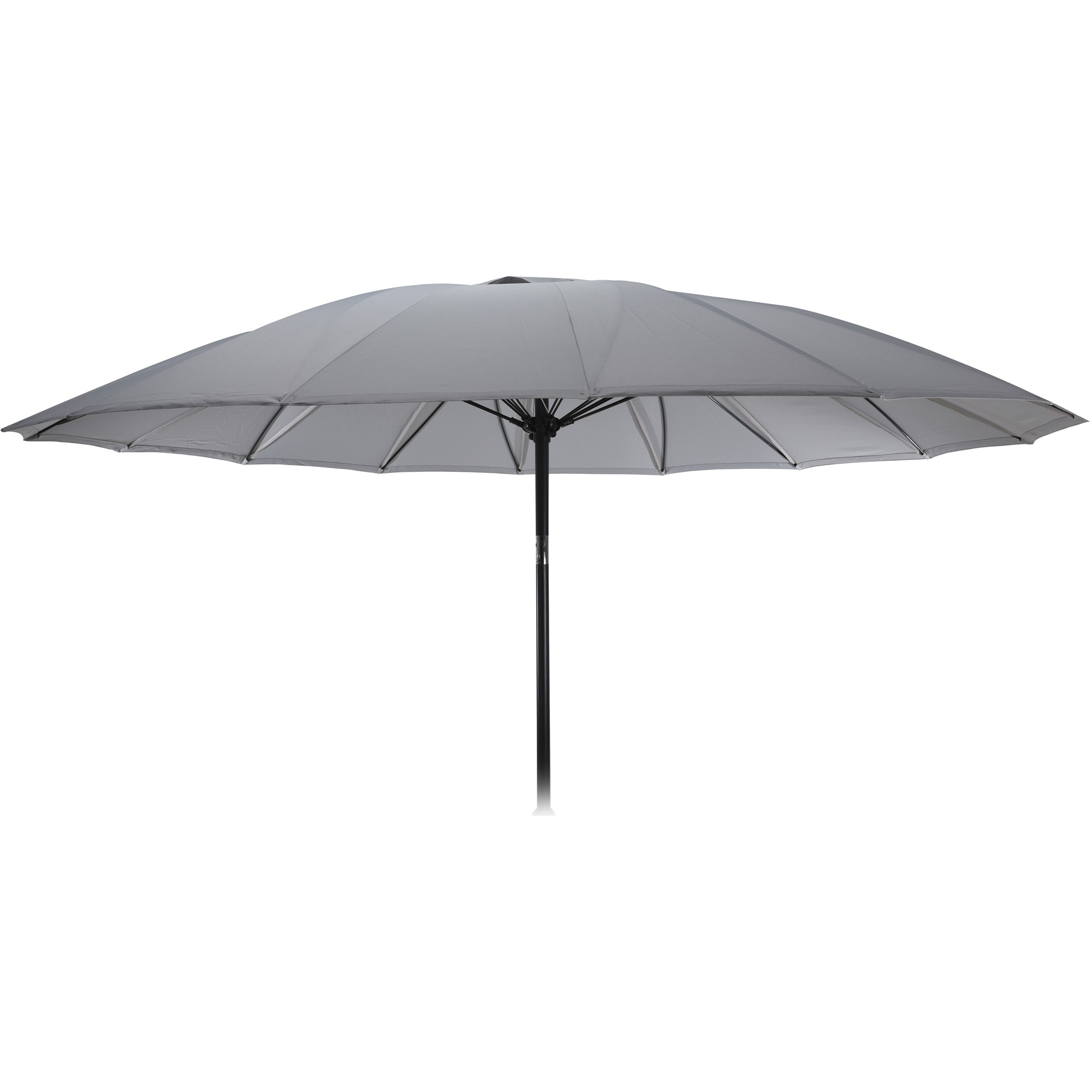 Fotografie Umbrela de gradina Shanghai 255x235 cm, polieste 160g, gri deschis