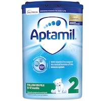 Lapte praf APTAMIL 2, 6-12 luni, 800 gr