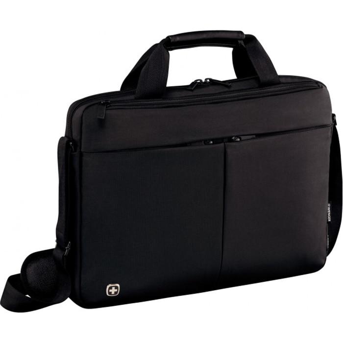 "Fotografie Geanta Laptop Wenger Format, 16"", Slim, Black"