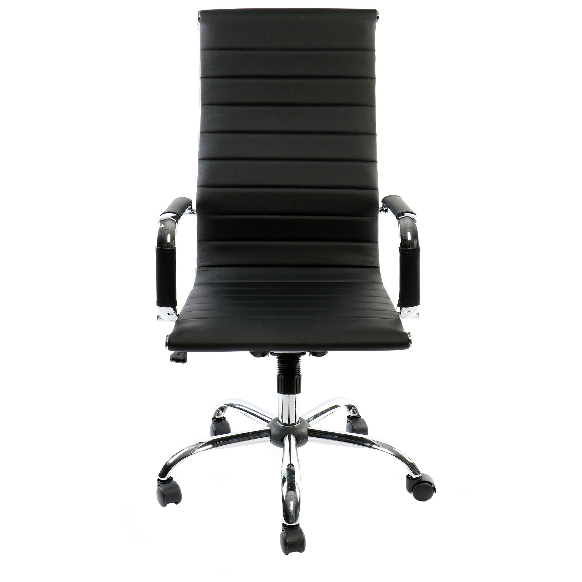 Fotografie Scaun de birou ergonomic Kring Lear Fit, PU, negru