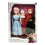 Комплект кукли Атлас, Леденото кралство с олаф