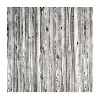 3D öntapadó tapéta, modern kivitelű, vízálló, könnyen tisztítható, méretei 70x70cm, fa minta, fehér / fekete Selling Depot ®