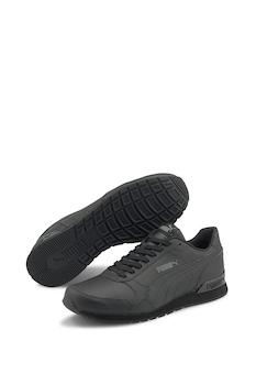 Puma, Обувки ST Runner v2 от кожа и еко кожа, за бягане