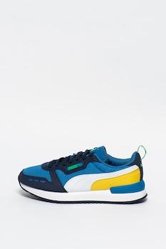Puma, Спортни обувки R78 за бягане с дизайн с цветен блок