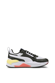 Puma, Омекотени обувки X-Ray 2 Square с цветен блок, за бягане