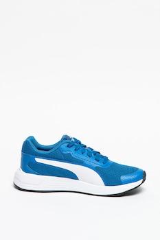 Puma, Обувки за бягане Taper Jr с еко кожа