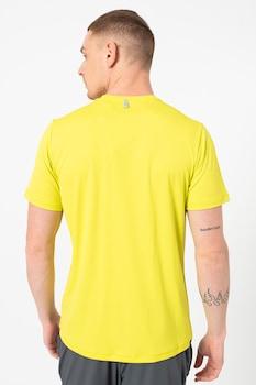 Jack Wolfskin, Sierra sportpóló nagy gumis logóval, Neonsárga, M
