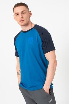 Jack Wolfskin, 365 Flash raglánujjú póló, Kék, M