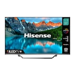 """Телевизор - Hisense 50"""" U7QF, 4K Ultra HD 3840x2160, ULED, FALD, Quantum Dot, HDR 10+, HLG, Dolby Vision, Dolby Atmos, Sound by JBL, Smart TV, WiFi 5GHz, WiFi Direct, BT, DLNA, 4xHDMI, 2xUSB, LAN, CI+, DVB-T2/C/S2, Black/Silver"""