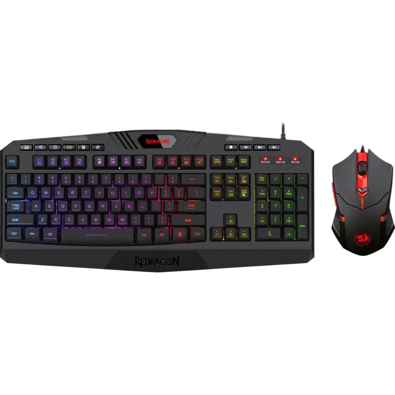 Fotografie Kit tastatura + mouse gaming Redragon Essentials