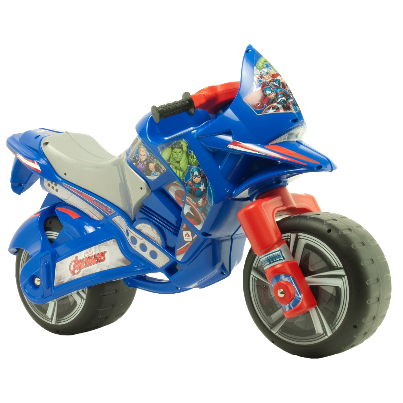 Fotografie Motocicleta Ride-on Injusa - Avengers, albastru