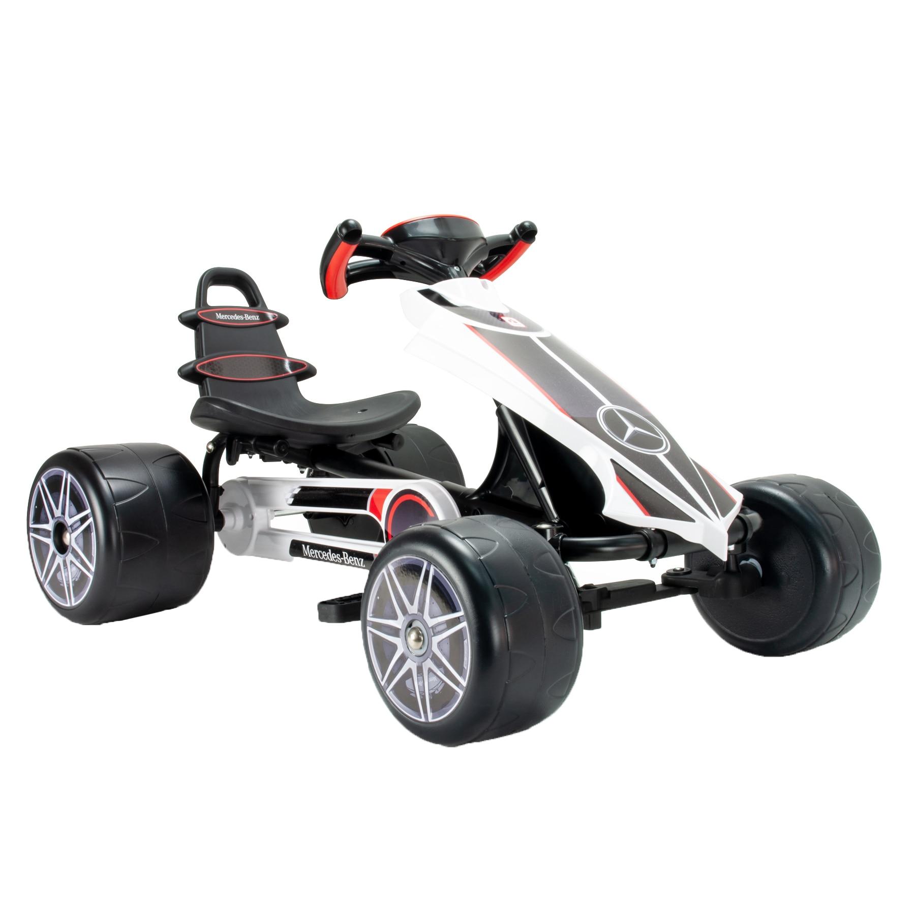 Fotografie Cart cu pedate pentru copii Injusa - Mercedes, Go kart Flecha