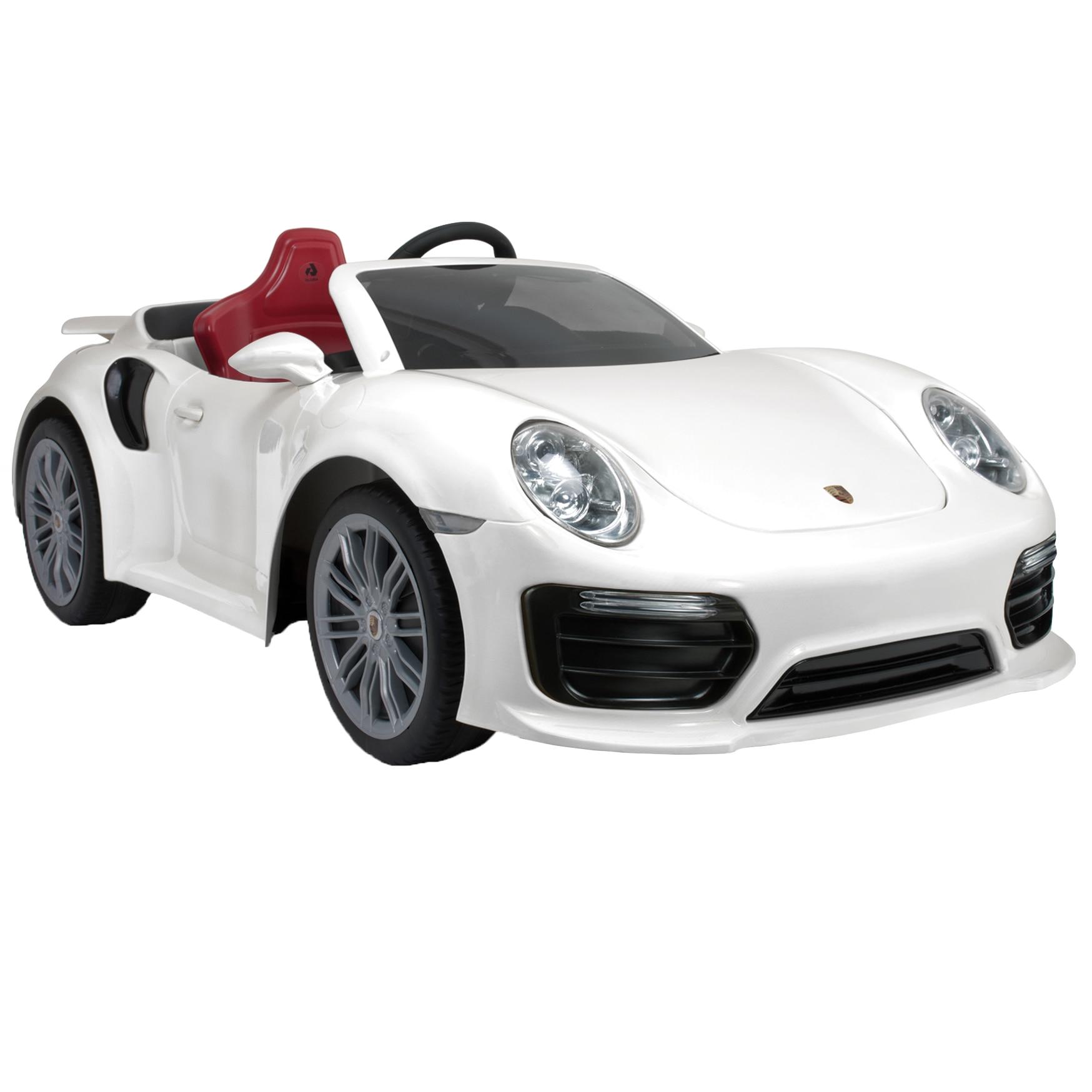 Fotografie Masinuta electrica pentru copii Injusa, 12V - Porsche 911 Turbo S
