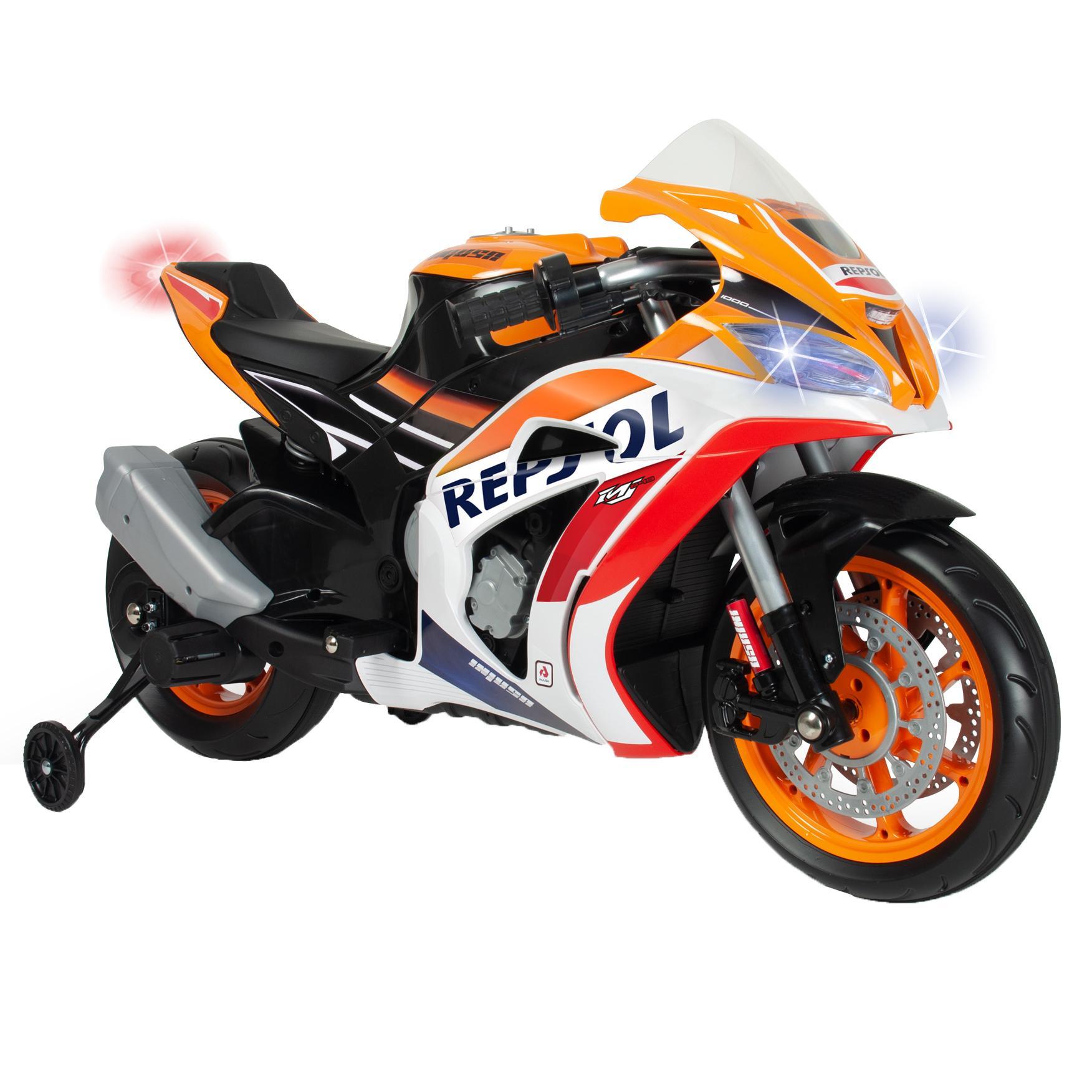 Fotografie Motocicleta electrica pentru copii Injusa, 12V - Honda Repsol Naked