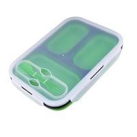 Clip & Close Tray szilikon összecsukható villa kanál, hossza 24 cm, zöld