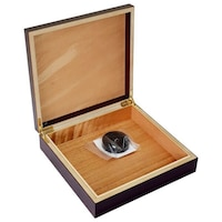 Кутия за пури Eleon 920350, транспортен хумидор за до 15 пури, без влагомер, махагон