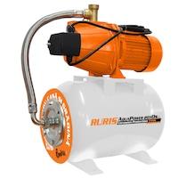 Хидрофор RURIS Aquapower 2010S, 900 W, 24 л, Дебит 50 л/мин, Височина на заустване 50 м, Дълбочина на засмукване 9 м