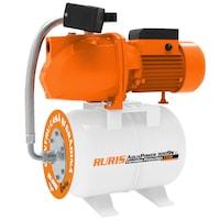 Хидрофор RURIS Aquapower 3009S, 1500 W, 24 л, Дебит 55 л/мин, Височина на заустване 60 м, Дълбочина на засмукване 9 м
