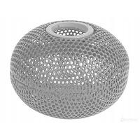 Mágneses tűtartó, gömb alakú, fém, ezüst színű