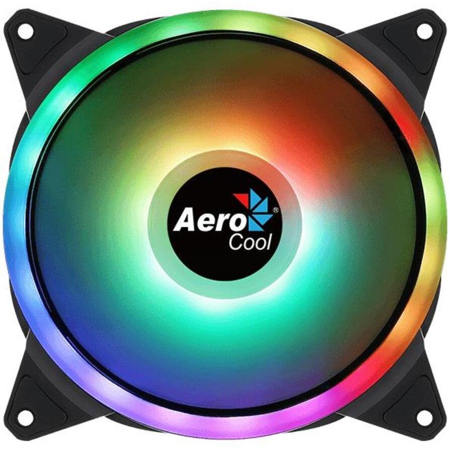 Fotografie Ventilator Aerocool Duo 14, 140mm, PWM, ARGB