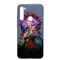 Szilikon védőtok Xiaomi Redmi Note 8, Stranger Things, AlaskanBlue, AB372
