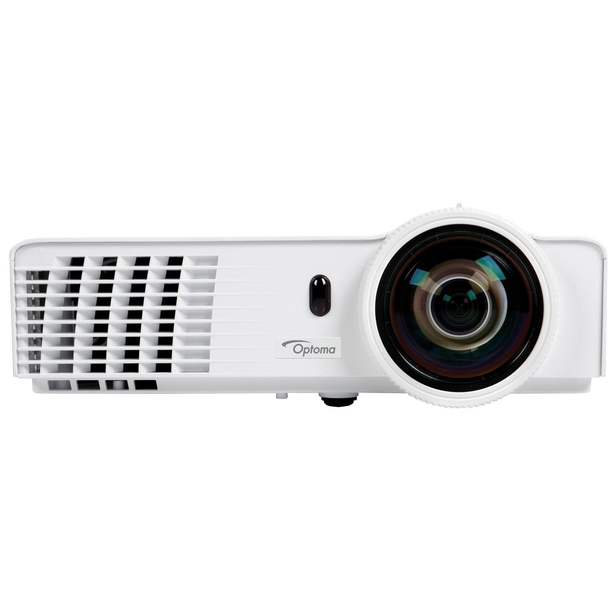 Fotografie Videoproiector Optoma W303ST, WXGA, 3000 lumeni, short throw, HDMI