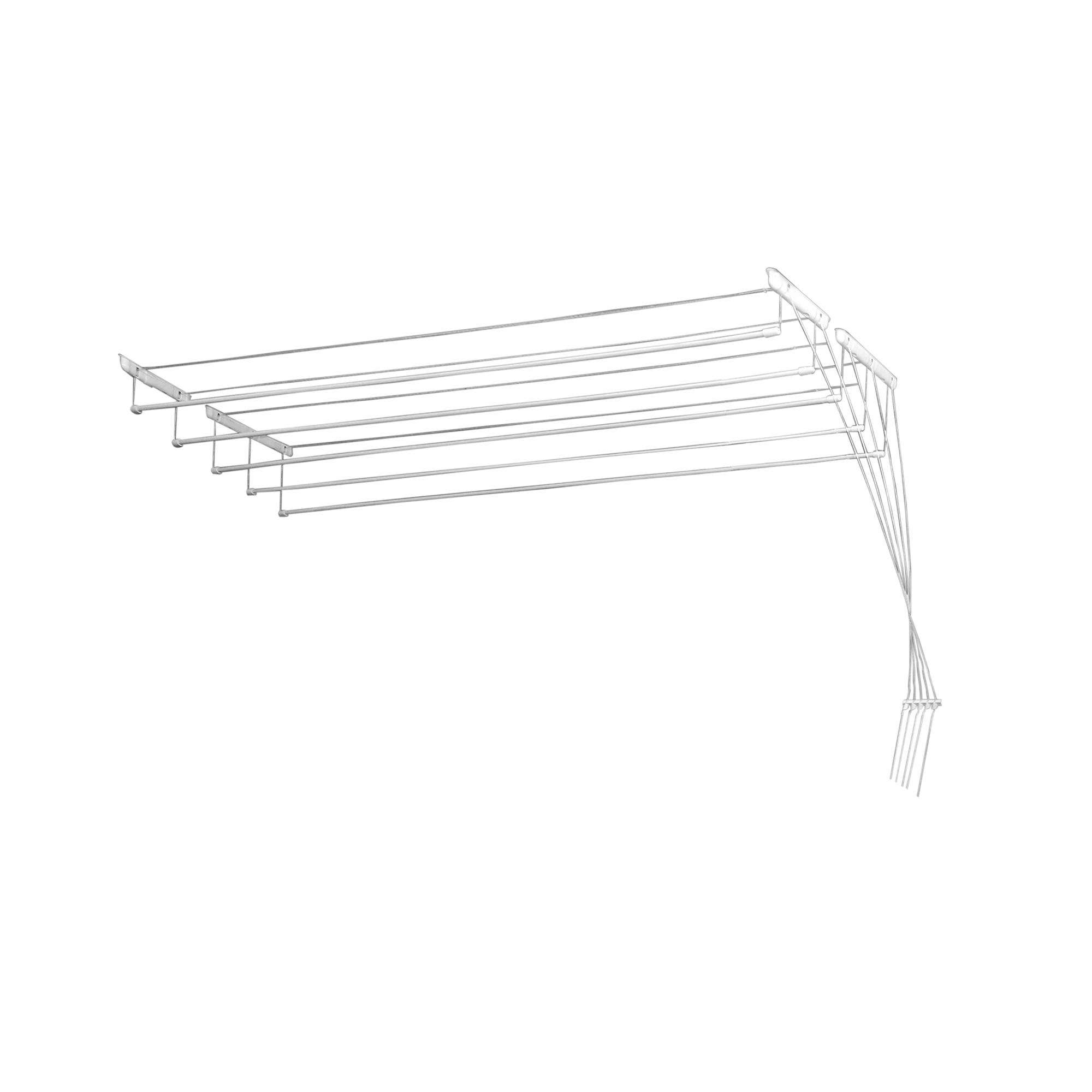 Fotografie Uscator de rufe, Heinner, Metalic, cu 5 linii 1,6m