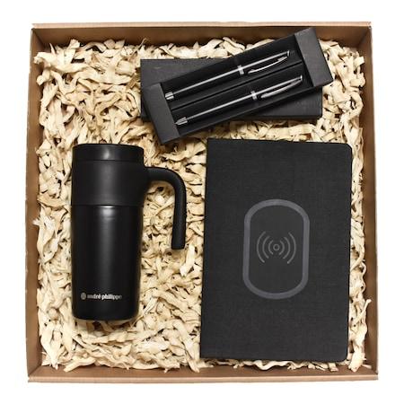 Set de cadou Giftbox Smart-Office, impachetat in cutie kraft