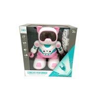 Magic Toys 359699 Távirányítós táncoló robot malac hanggal 20cm