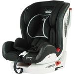 Столче за кола ISOFIX Asalvo Confort Fix Grey, 9-36 кг, Черен/Сив